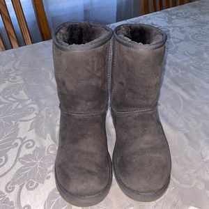 Ugg boots grey size 8 good used condition